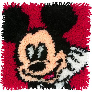 "Mickey Mouse Disney Latch Hook Kit 12""X12"""