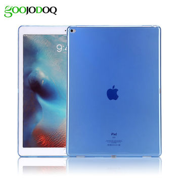 TPU Soft Case For iPad Air 1 ( Ipad 5 ) Thin Slim Shell Skin Silicon Clear Transparent Cover for Apple Ipad Mini 1 2 3 New