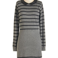 Long Sleeve Sweater Dress Exciting Excursion Dress