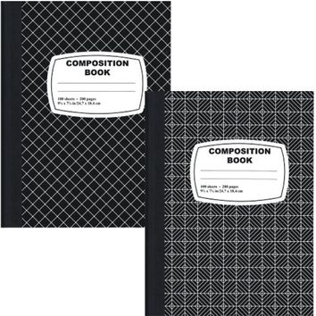 Printed Marble Comp. Notebook - 100 sheets - CASE OF 48