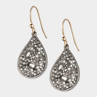 Extra Small Silver Drop Earrings                                                                                                 | MoMA