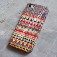 Aztec Geometric Tribal Wood iPhone Case Cover , iPhone 5s Case , iPhone 5 , iPhone 5c Case ,iPhone 4 ,iPhone 4s Case ,Samsung Galaxy S4 Case
