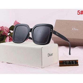 DIOR Popular Ladies Delicate Fashion Summer Sun Shades Eyeglasses Glasses Sunglasses 5#