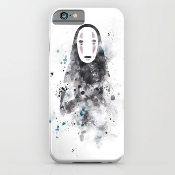 No Face iPhone & iPod Case by MonnPrint