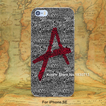 pretty little liars hard transparent clear Cover Case for iPhone SE 4 4s 5 5s 5c 6 6s Plus