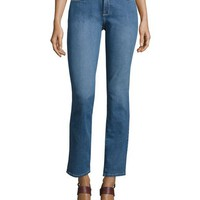 NYDJ Sheri Slim-Fit Denim Jeans, Blue