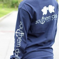 Southern Darlin' – Classic Navy Long Sleeve