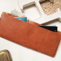 Personalized Thin Leather Wallet