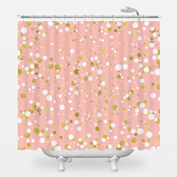pink and gold shower curtain. Amazing Gold And Pink Shower Curtain Contemporary  Best idea home Surprising Images