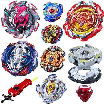 Beyblade Burst Toys B-115 With Launcher Kids Boys Gift Toupie Bayblade burst Metal Fusion God Spinning Top Bey Blade Blades