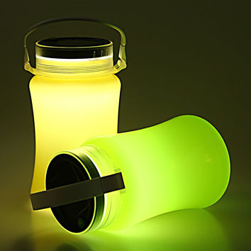 solar powered bottle bulb Make a solar bottle light  as an alternative method installing your solar light bulb, insert the bottle into a cut-out fitted hole to a 1  powered.