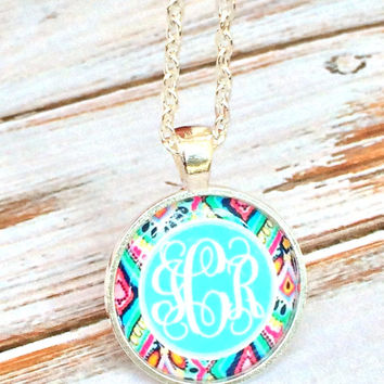 Monogram Necklace Personalized Jewelry Bridesmaid gifts Monogrammed gifts Monogrammed gifts for women, girls, mothers day, Valentines