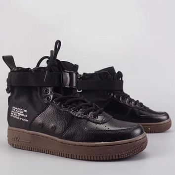 Trendsetter Wmns Nike Air Force 1 Sf Mid  Fashion Casual High-Top Old Skool Shoes