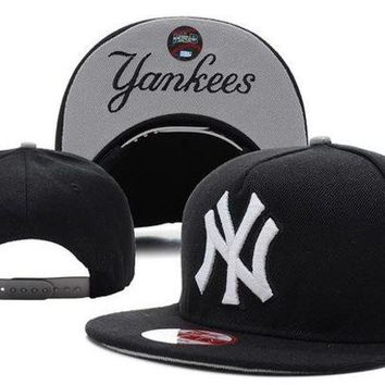 DCCKUN7 Mlb New York Yankees Snapback Cap Snapback Hat - Ready Stock