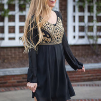 Treasure Me Dress, Black