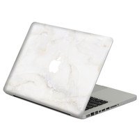 White Marble Grain Vinyl Full Positive Front Cover Decal Laptop Skin For Apple Macbook Air 13 13.3 Inch Laptop Case Sticker