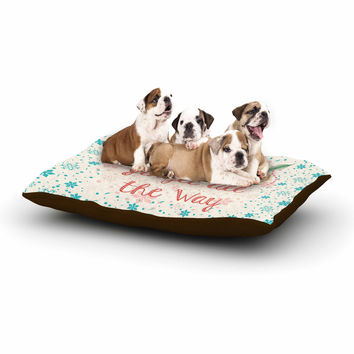 "Famenxt ""Jingle All The Way"" Holiday Digital Dog Bed"