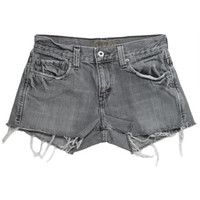 Rokit Recycled Levi's Grey Denim Shorts W30 | Rokit Recycled | Rokit Vintage Clothing