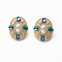 Royale Clip-On Earring Studs