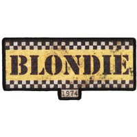 Blondie Men's Taxi Logo Embroidered Patch Black