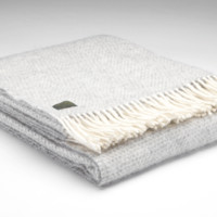 Holly's House - Grey Beehive Throw