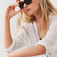 Ava Mod Square Sunglasses | Urban Outfitters