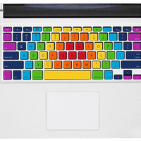 Colorful keyboard macbook decals mac stickers mac keyboard cover decal mac stickers mac stickers macbook for  mac pro /air /laptop