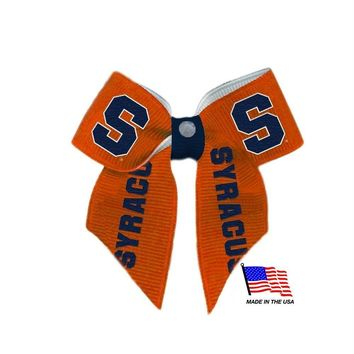 Syracuse Orange Pet Hair Bow