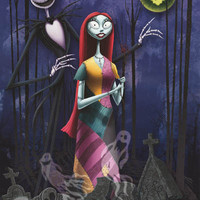Nightmare Before Christmas Jack and Sally Poster 22x34