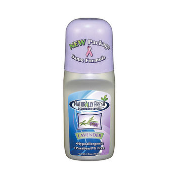 Naturally Fresh Roll On Deodorant Crystal Lavender - 3 oz