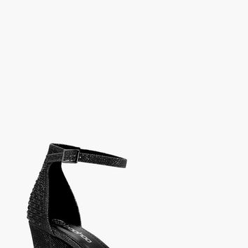 Tabitha Block Heel 2 Parts | Boohoo