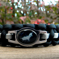 Batman The Dark Knight Rises Paracord Bracelet Custom Handmade-Wrist Measurement REQUIRED Please Read Listing Details