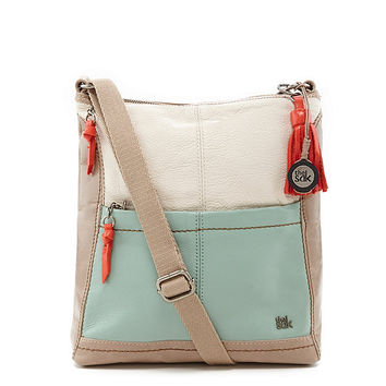The Sak Iris Colorblocked Cross-Body Bag | Dillards