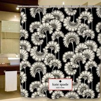 "New Design Kate Spade Japanese Floral Pattern Custom Shower Curtain 66"" x 72"""