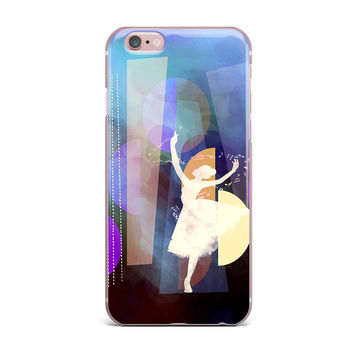 "alyZen Moonshadow ""BLUE BALLET"" Purple Geometric iPhone Case"