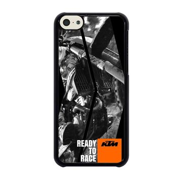 KTM MOTORCYCLE READY TO RACE iPhone 5C Case