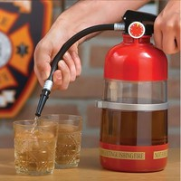 eSmart Fire Extinguisher Cocktail Shaker Liquor Pump Wine Beer Dispenser Machine