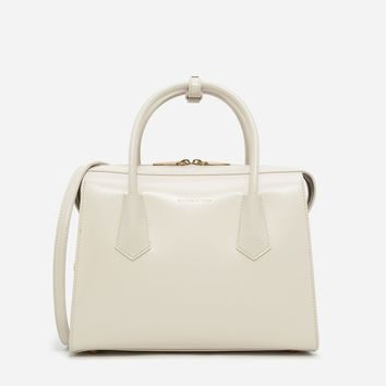 Ivory Basic Structured Bag | CHARLES & KEITH