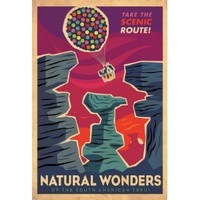 UP - Disney/Pixar - Borderless Mini Movie Poster Flyer - 11 x 17 - Natural Wonders