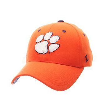 Licensed Clemson Tigers Official NCAA ZHS Large Hat Cap by Zephyr 852842 KO_19_1