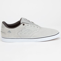 Emerica The Reynolds Low Vulc Mens Shoes Grey  In Sizes