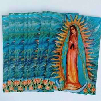 Our Lady of Guadalupe One Dozen Postcards