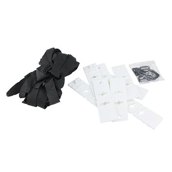 Set of 8 Straps and Snaps Kit for Cover Reels 55""