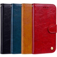 PU iPhone 10 Leather Wallet Case with Card Holder and Stand