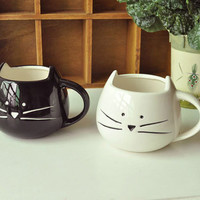 Super Cute Kitty Mugs