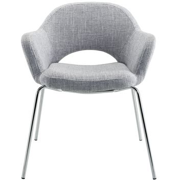 Cordelia Armchair, Light Grey