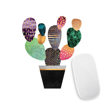 Pretty Cactus Mouse Pad Decal