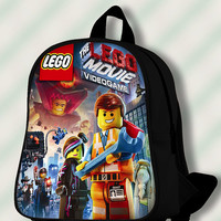 Lego Movie Video Game - Custom SchoolBags/Backpack for Kids.