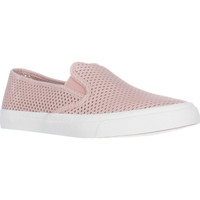 Sperry Top-Sider Seaside Perforated Slip On Fashion Sneakers - Perfs Rose