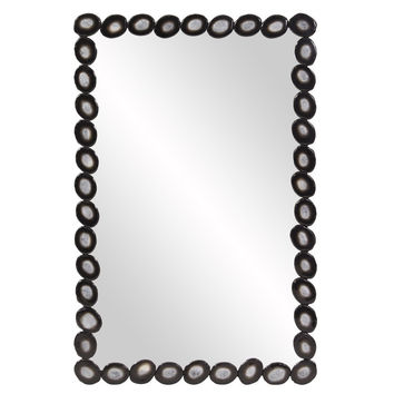 "Howard Elliott Geode Rectangular Mirror 23.1/2"" x 36"" x 1"""